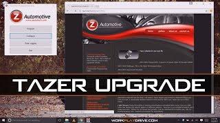 zAutomotive TaZer - ZPU 1.4.9 and Firmware Upgrade 2.2.8  zautotech.com Fan and TPMS conrol