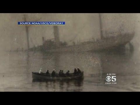 100-Year-Old Coast Guard Shipwreck Located Off California Coast