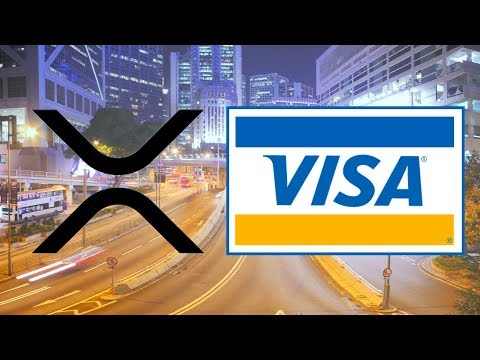 VISA Inc. Using Ripple Technology! - Sending $33 Million ONLY Costs 0.005 XRP!
