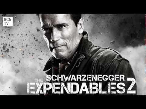 The Expendables 2 Schwarzenegger & Stallone Interview - Arnie Talks Big Screen Return