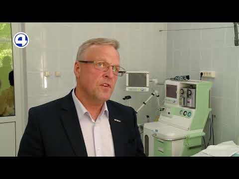 Компания «ФОРЭС» передала многофункциональный аппарат ИВЛ больнице в Сухом Логу