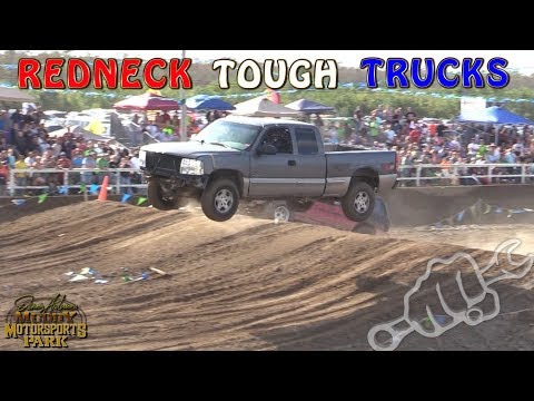 REDNECK TOUGH TRUCK RACING - North vs South