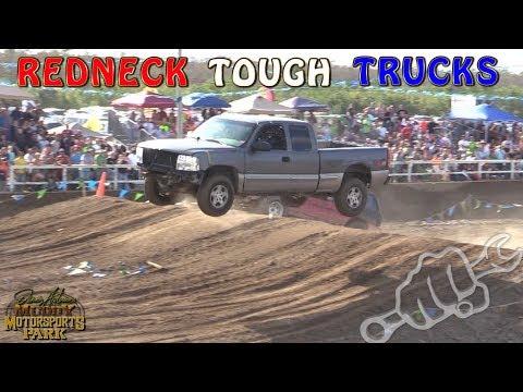 REDNECK TOUGH TRUCK RACING - North vs South 2017