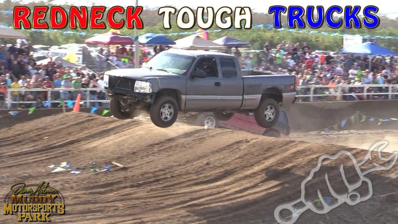 Carolina Motorsports Park >> REDNECK TOUGH TRUCK RACING - North vs South 2017 - YouTube