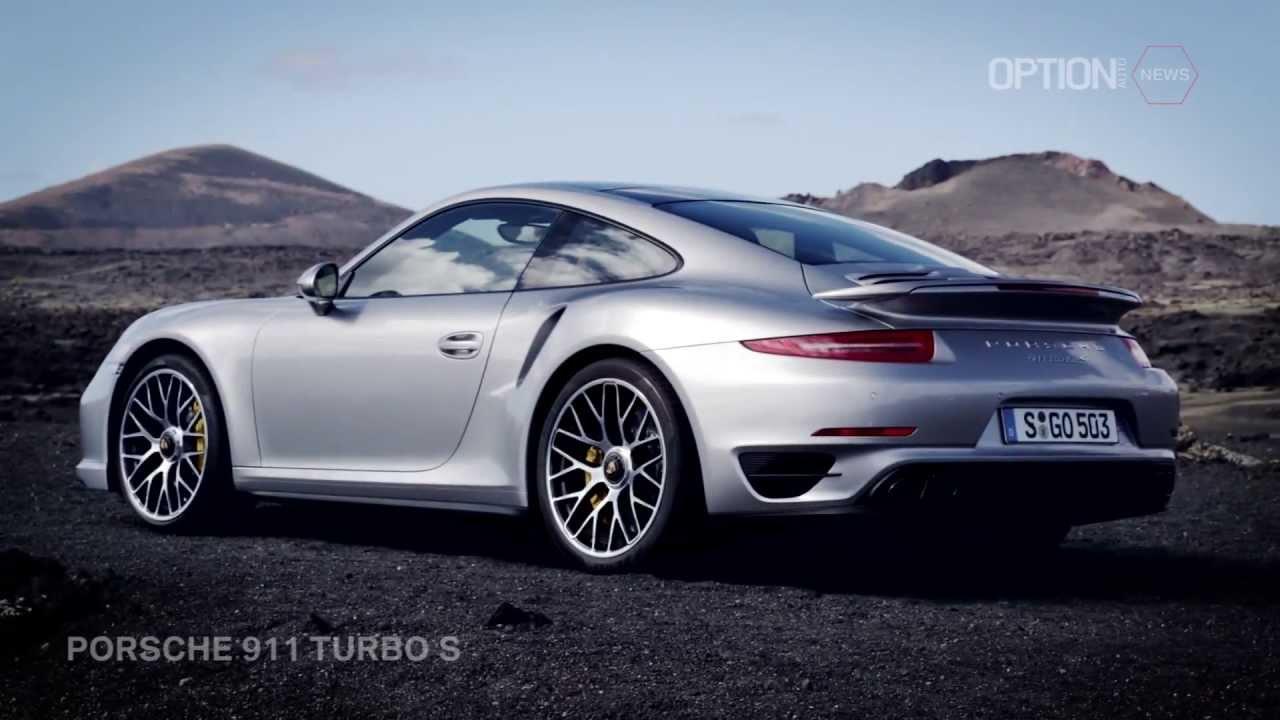 Porsche 911 Turbo S OFFICIAL Trailer HD Option Auto News  YouTube