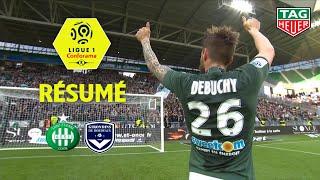 AS Saint-Etienne - Girondins de Bordeaux ( 3-0 ) - Résumé - (ASSE - GdB) / 2018-19