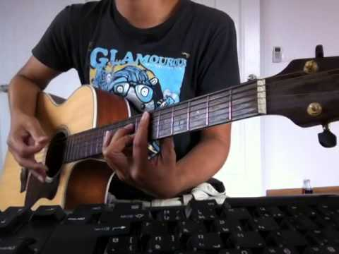 Maudy Ayunda Duet With David Choi - By My Side (Cover Guitar)