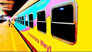 Chukuchaka !! Shosholoza Meyl TRAIN leaving Johannesburg 4 Cape Town (September 2016)