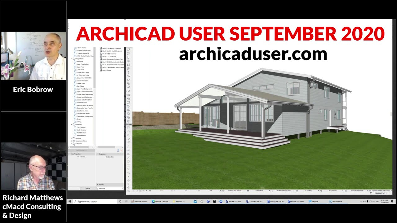 Archicad User The Online Learning Community Led By Eric Bobrow
