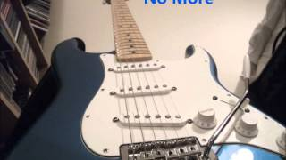 Blues song with feeling, 'No More' by Matt Seymour