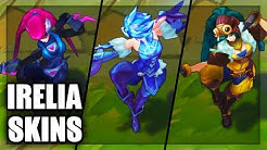All Irelia Skins Spotlight Rework 2018 Final Update (League of Legends)