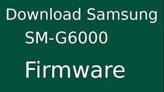 Samsung on7 sm g6000 firmware upgrade hang logo fix