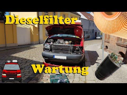 Dieselfilter wechseln & Wartung beim VW T4