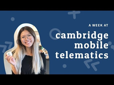 A Week At Cambridge Mobile Telematics: Product Management Intern In Boston | 16 Weeks Of Internships