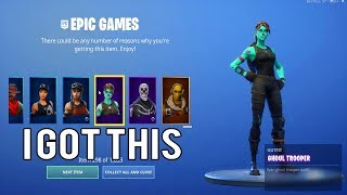 I GIFTED myself EVERY SKIN in Fortnite using this GLITCH...