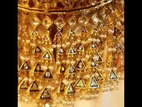 Jaipur kundan jewellery  choker set