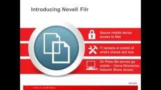 Novell Filr: Overview