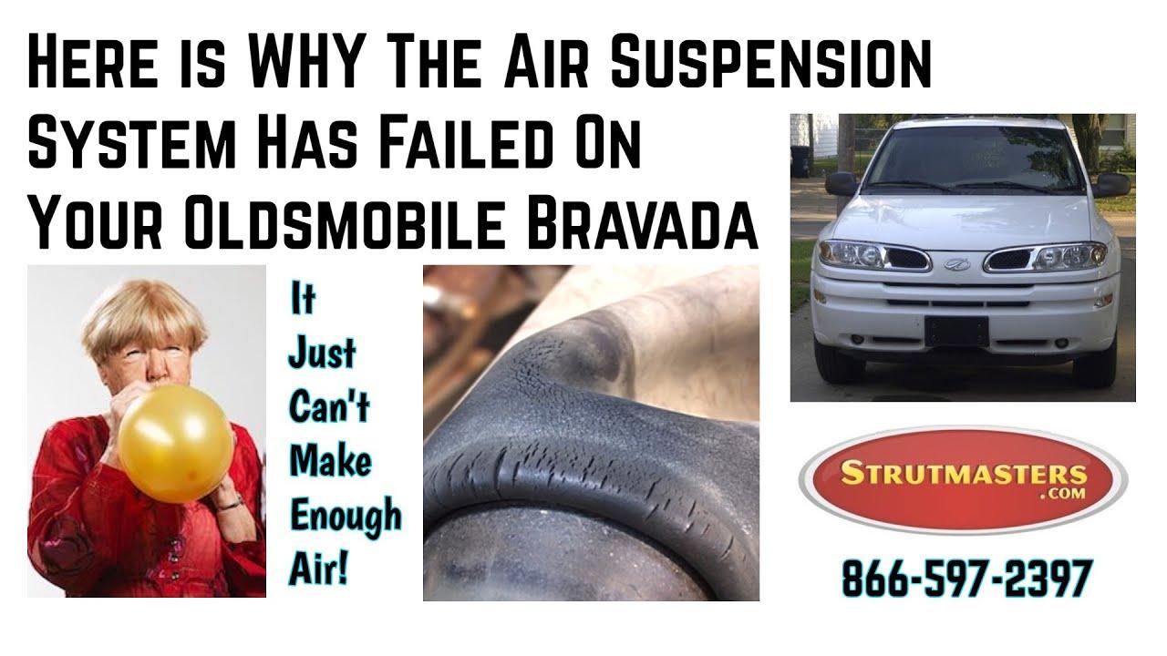 2002 olds bravada air suspension conversion