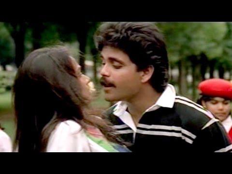 Hello Guru Prema Kosam Video Song || Nirnayam Movie || Nagarjuna, Amala