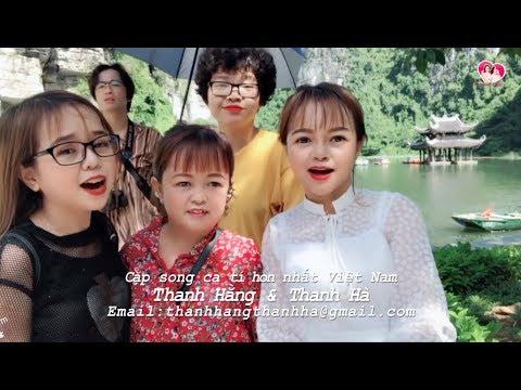 Thanh Hằng Thanh Hà hát Quan họ trên thuyền & giới thiệu danh lam thắng cảnh Tràng An