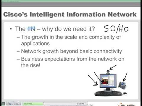 The Intelligent Information Network and Cisco Service-Oriented Network Architecture - Part 1