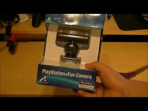 PS3 Eye Camera Unboxing