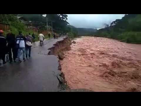 Crecida del Río Torbes deja incomunicada varias zonas en Táchira