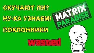 СКУЧАЮТ ЛИ ПО MATRIX PARADISE?