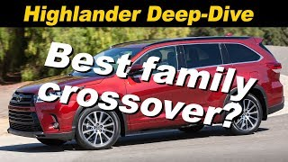 2018 Toyota Highlander Review and Comparison