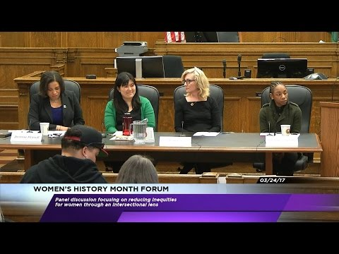 Women's History Month Forum