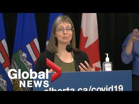 Alberta launching walk-in AstraZeneca COVID-19 vaccine appointments in Calgary and Edmonton | FULL