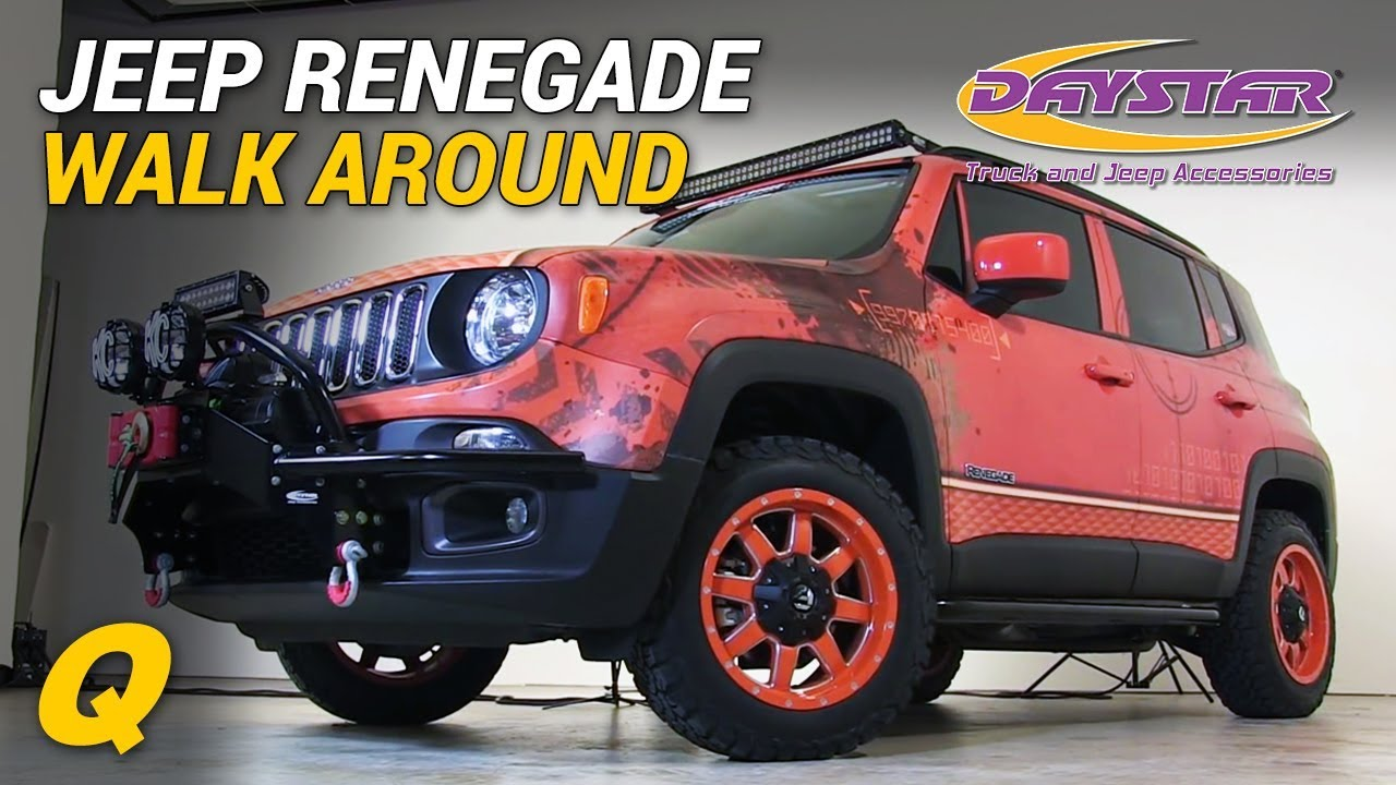 Daystar Renegade Lift >> Daystar Jeep Renegade First Look - YouTube