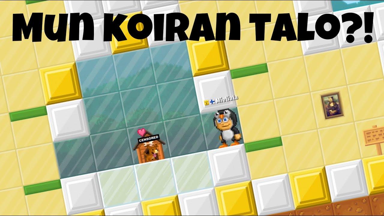 Download NIMESIN JA TEIN MUN KOIRALLE TALON!🔥   Pixel Worlds Suomi  