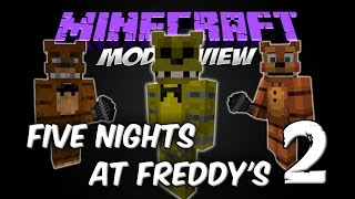 FIVE NIGHTS AT FREDDY'S 2 MOD - FNAF2 MOD [Forge][1.7.10][Español]