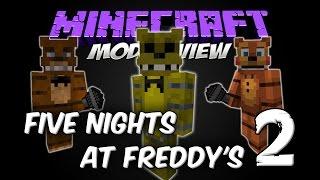 FIVE NIGHTS AT FREDDY'S 2 MOD - FNAF2 MOD [Forge][1.7.10][Español]