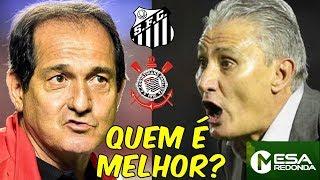 Santos 2011 x Corinthians 2012 | Quem é melhor? (10/03/19)