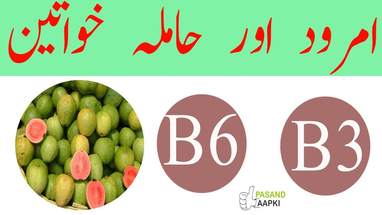 guava : guava juice : guava fruit of full information in urdu with Dr Khurram:Pasand Aapki