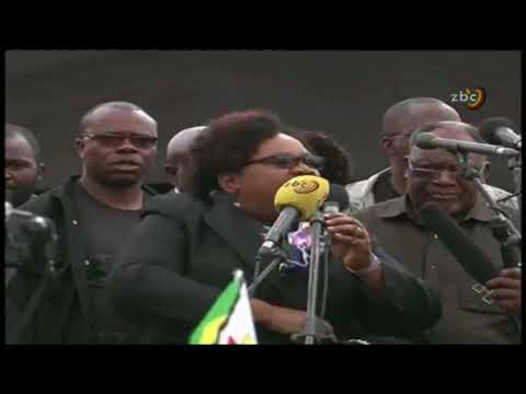 Solidarity Rally: Joice Mujuru