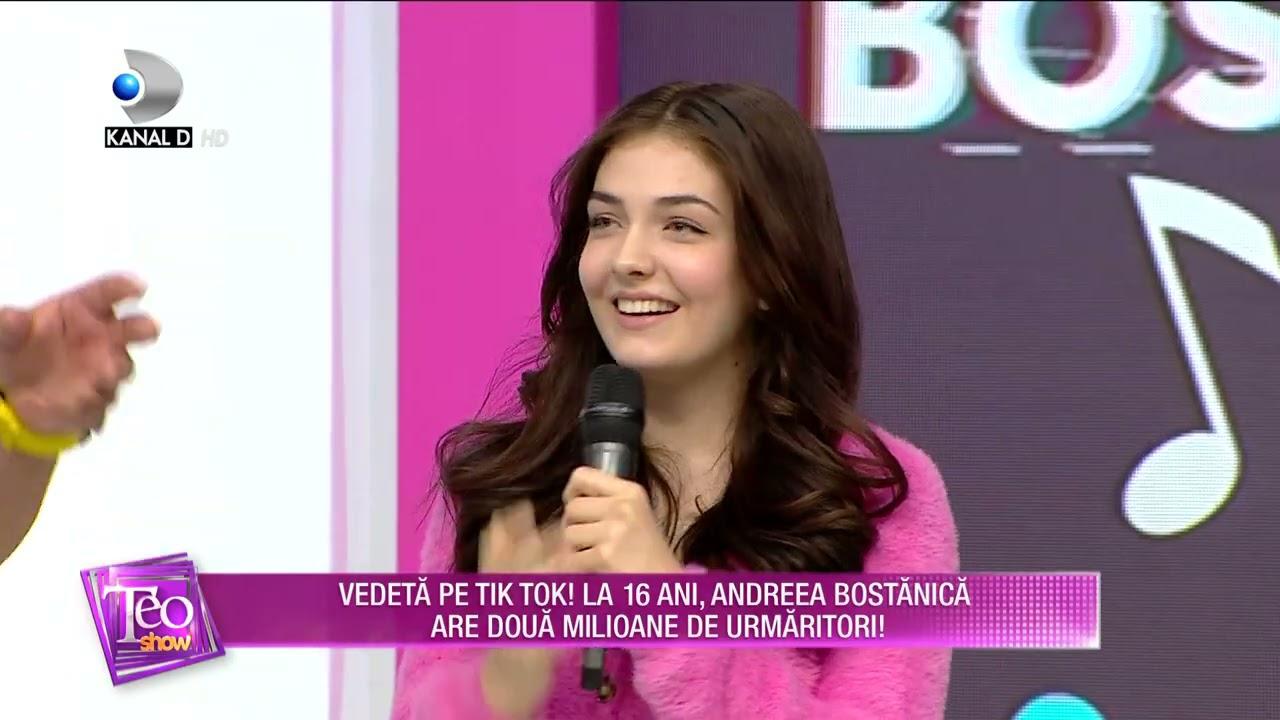 Teo Show (11.05.2021) - Vedeta pe Tik Tok! La 16 ani, Andreea Bostanica are 2 milioane de urmaritori