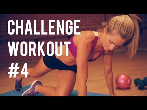 Total Body Challenge Workout #4 -- Dumbbell and Body Weight Workout