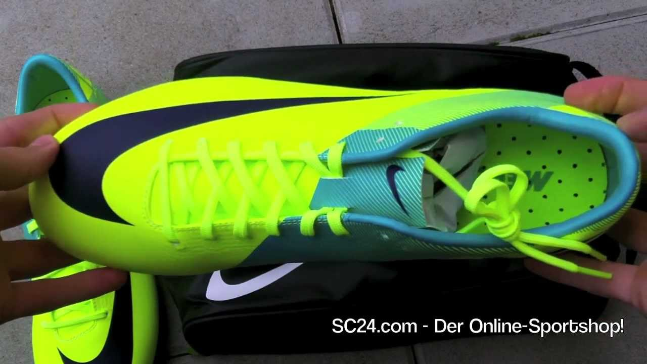 583481cdcd1 ... inexpensive nike mercurial vapor superfly iii volt imperial purple  retro yellow hands on ronaldo shoe youtube