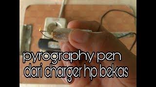 Cara mudah membuat pyrography pen