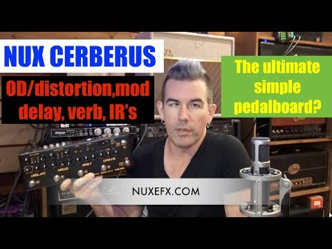 THE ULTIMATE SIMPLE GUITAR FX PEDALBOARD? NUX Cerberus
