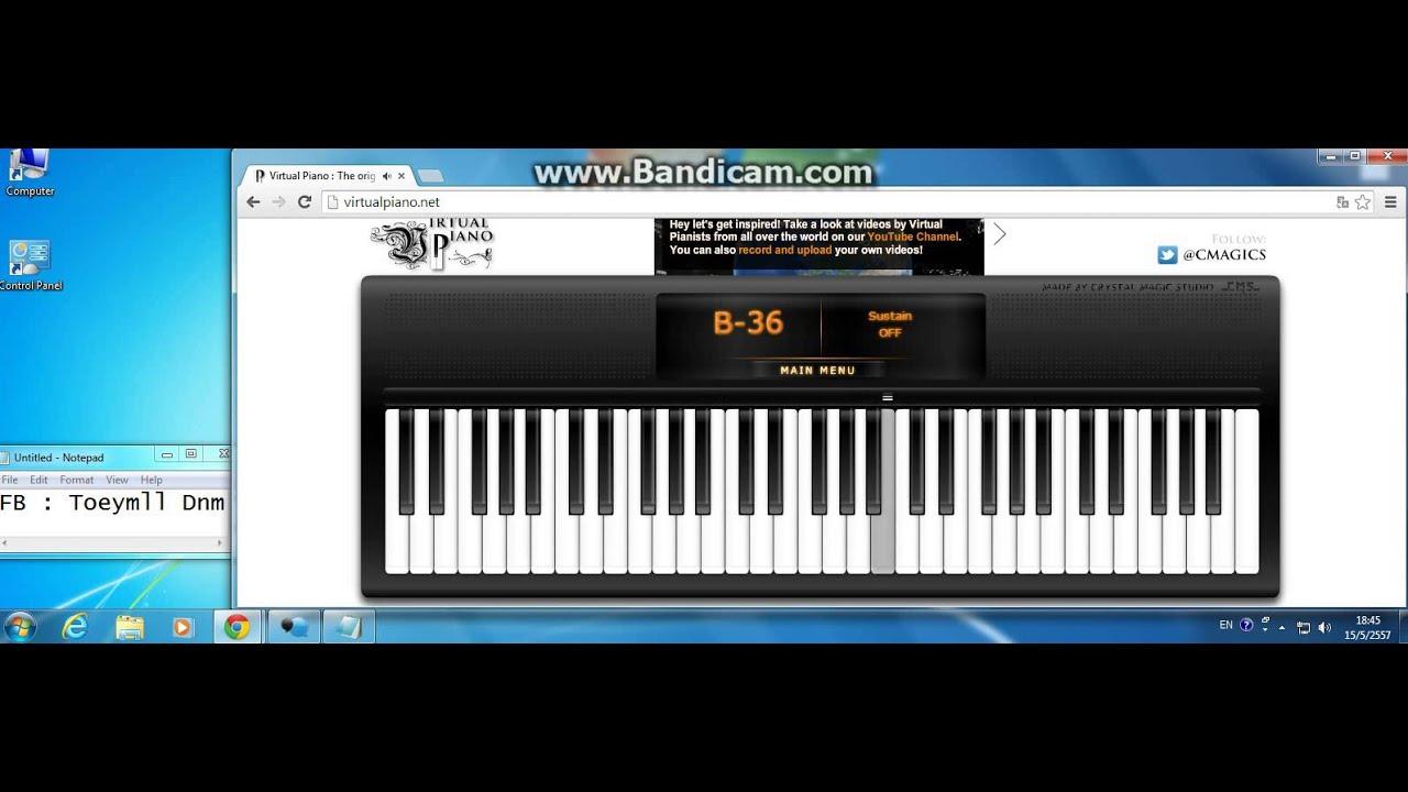 Roblox Piano Sheets Demons