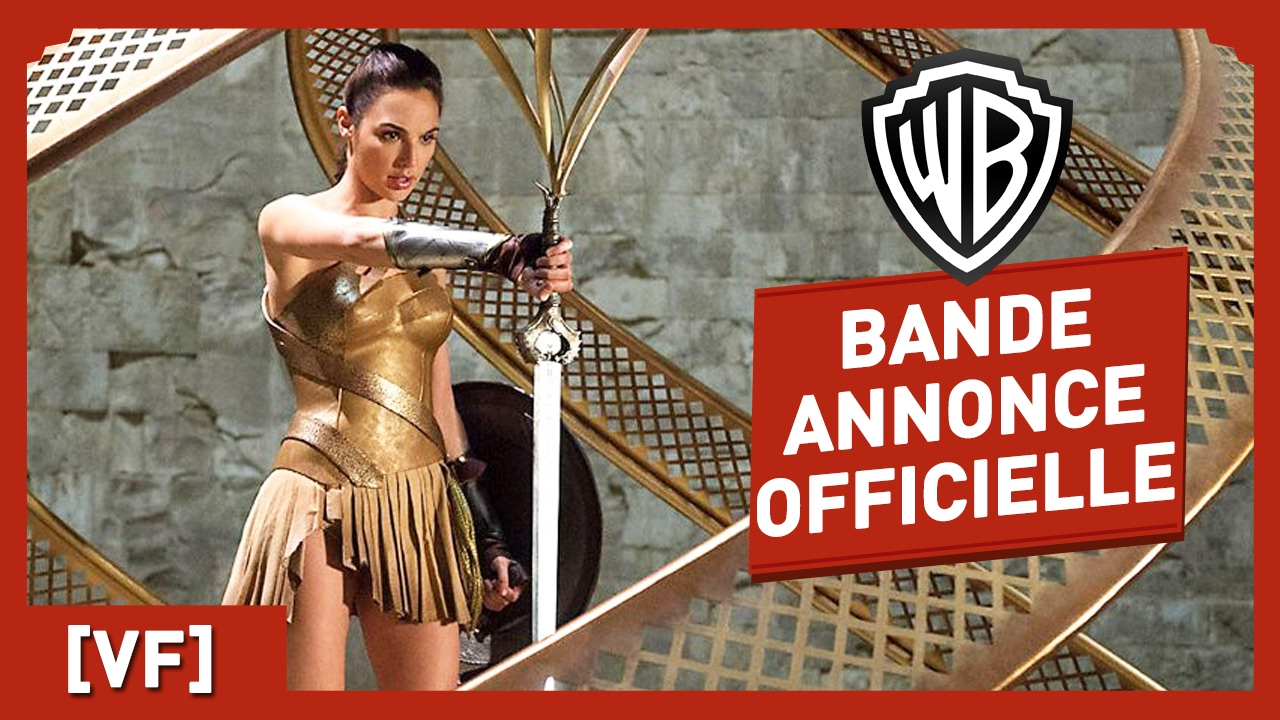 Wonder Woman - Bande Annonce Officielle 4 (VF) - Gal Gadot