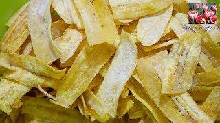 SNACK CHUỐI - CHIP CHUỐI - Bim bim Chuối, khô giòn ngọt dịu - Món ăn Ngày Tết by Vanh Khuyen