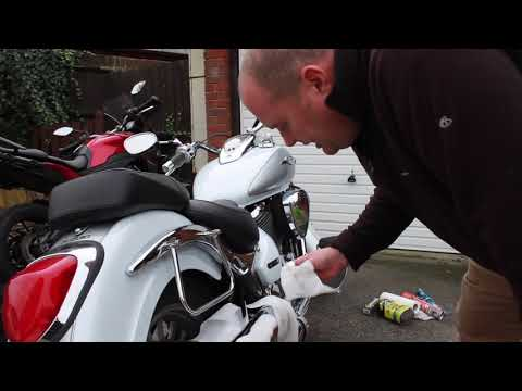 How to clean melted plastic from your bike exhaust