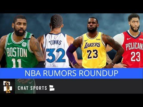 NBA Rumors: Celtics Anthony Davis Trade Rumors, Lakers Seeking LeBron Help, Ernie Grunfeld Hot Seat?
