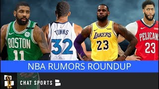 NBA Rumors: Celtics Anthony Davis Trade Rumors, Lakers Seeking LeBron Help, Ernie Grunfeld Hot Seat?