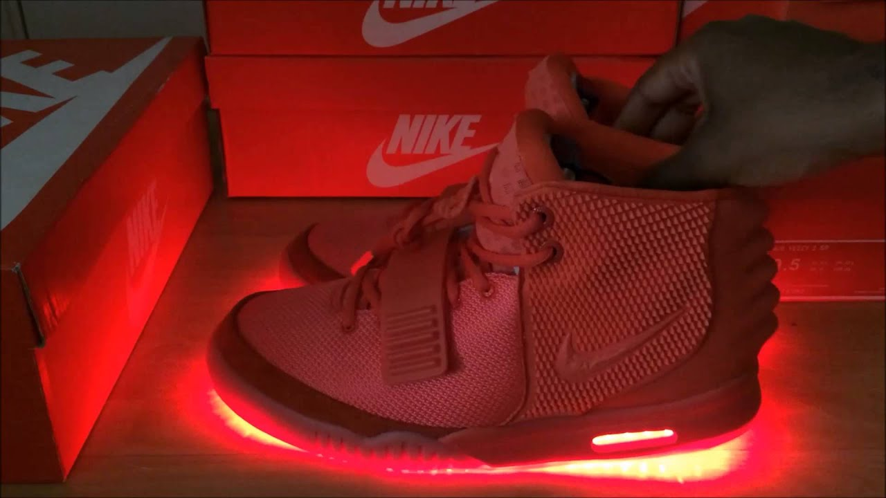 Nike Led Light Shoes